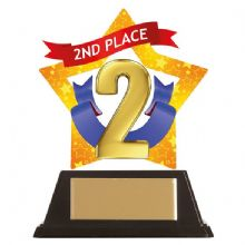 2nd Place Mini-Star Acrylic Award